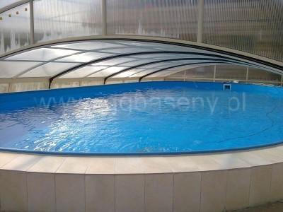 zadaszony basen woda